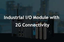 Industrial I/O Module with 2G Connectivity